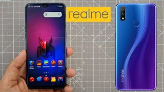 RealMe X Spiderman addition theme for any RealMe or Oppo device