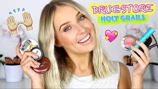 My HOLY GRAIL DRUGSTORE Favorites! | Lauren Curtis