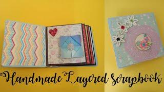 Multilayered scrapbook/Project share/Scrapbook ideas/Scrapbook cards/Cards for scrapbook/Scrapbook