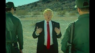Funny Trump crossing in to Mexico commercial John Di Domenico