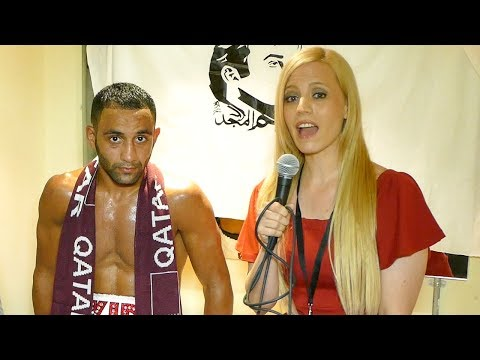 EXCLUSIVE: Kid Galahad LOCKEROOM Interview After TKO WIN Against Jose Ceyatano