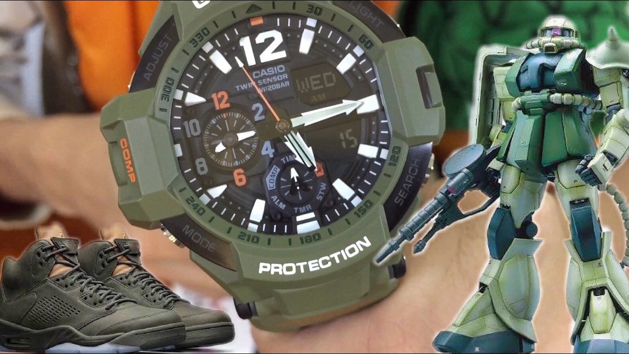 Olive In Ga Unboxing Review Master Drab G 1100kh Skycockpit Gravitymaster Shock 3ajf Watch And wOiuXPkZTl