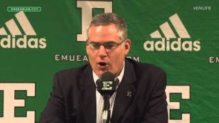 EMU Football Weekly Press Conference - Oct. 5, 2015