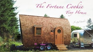 A Magical Tiny House named The Fortune Cookie - Inside Tour in 4k
