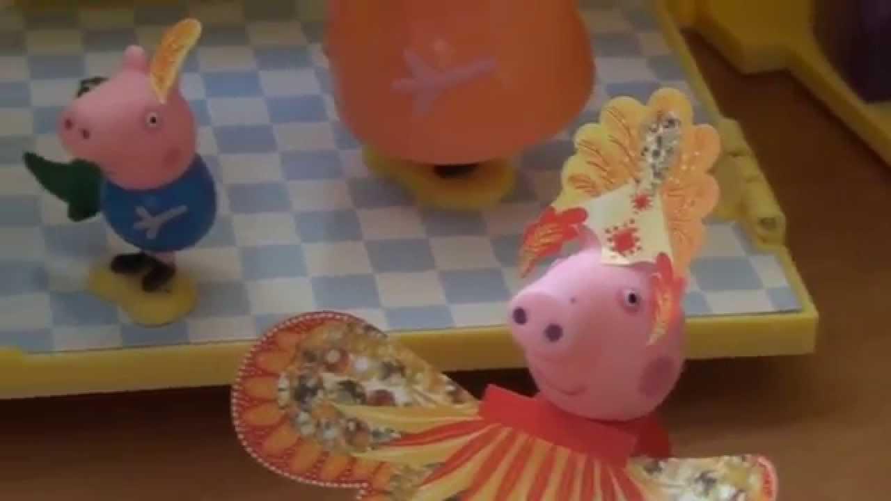 мультик про свинку пеппа больной джордж