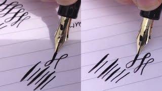 Pilot Justus 95 Adjustable Nib Fountain Pen Review