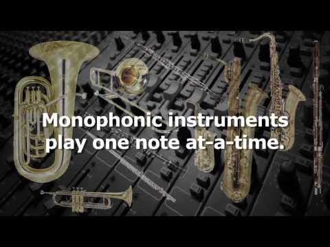 Monophonic and Polyphonic