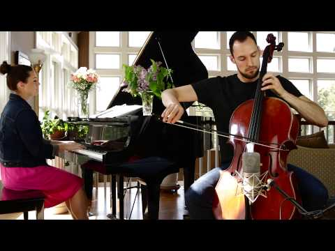 Saint-Saëns: The Swan (Cello and Piano) - Brooklyn Duo