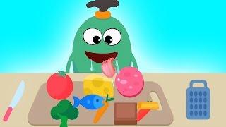 "Baby Fun Making Food With ""Dumb Ways JR Boffo"