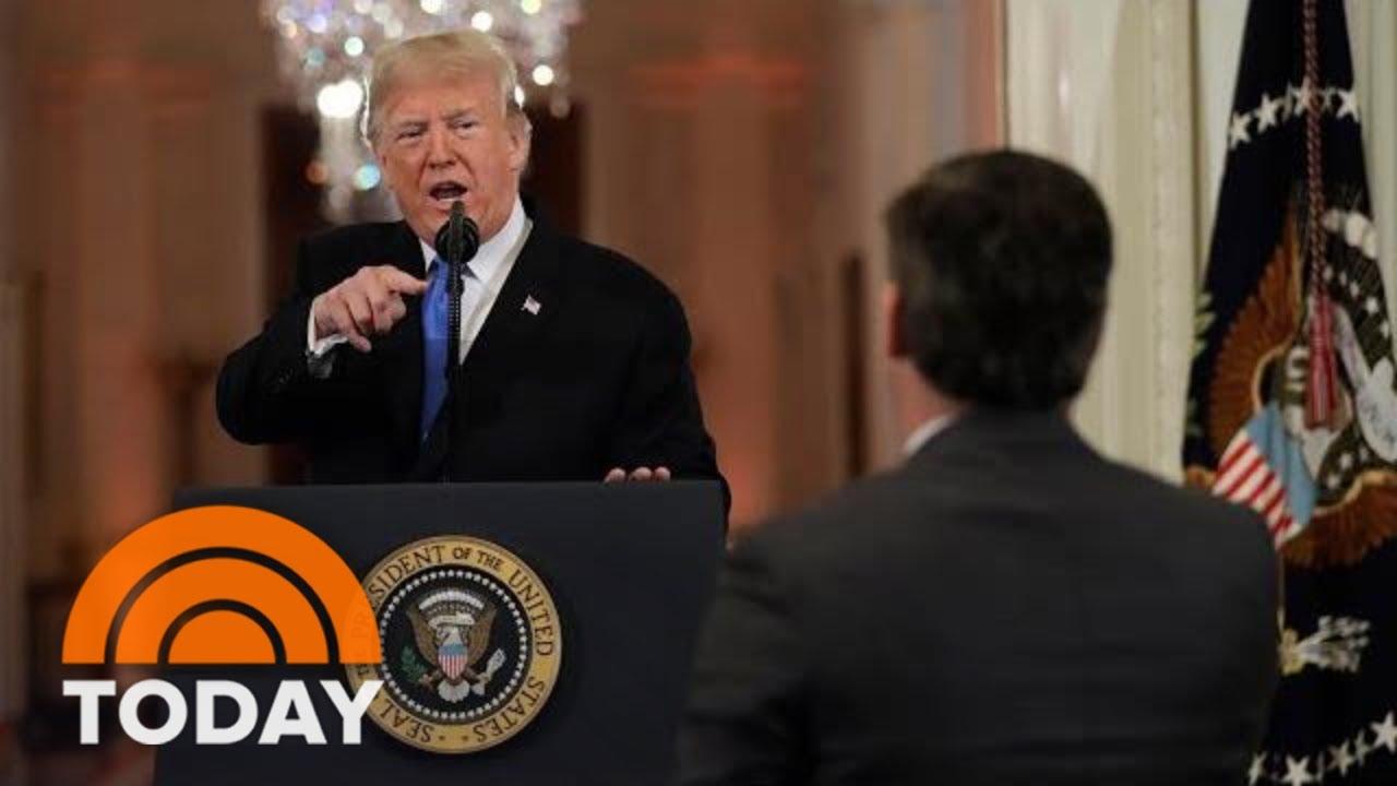 President Donald Trump Unleashes In Combative Post ...