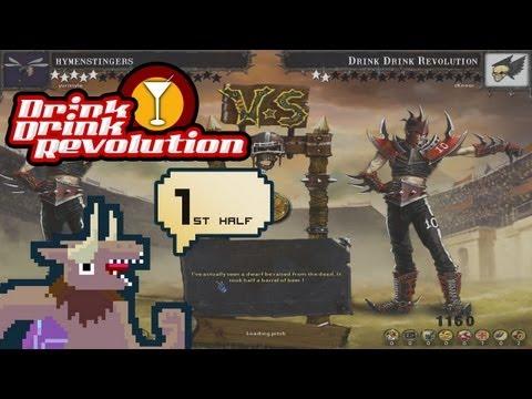 BloodBowl: CE - Drink Drink Revolution - Match 4 First Half v. Dark Elf