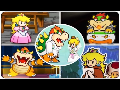 Paper Mario Series - Evolution of All Introductions (N64, GC, Wii, 3DS & Wii U)