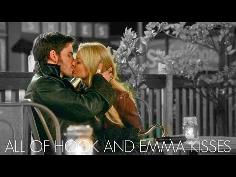 All of Hook & Emma Kisses  ONCE UPON A TIME