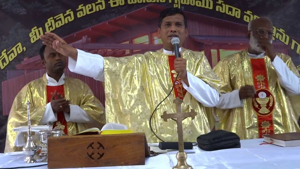 Divine Mercy Centre, Habsiguda. Christian Action Song led Rev Fr. Cyrildoss SVD.