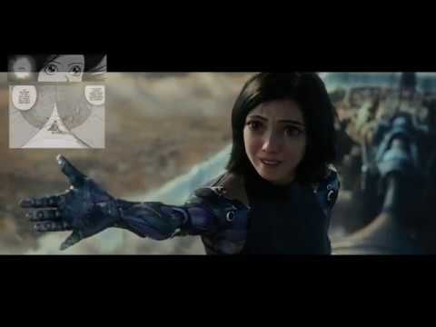 In The Clouds Scene panel by panel comparison with original manga  | Alita: Battle Angel (2019)