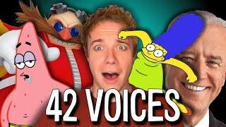 ONE GUY, 42 VOICES (Mandalorian, Harry Potter, SpongeBob, South Park)