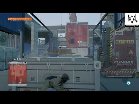 WATCH_DOGS® 2 - Steal the main server tower on the Barge's