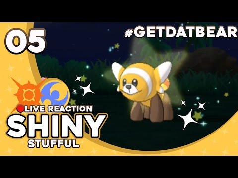 BEST SHINY REACTION ON YOUTUBE! SHINY STUFFUL! | Pokemon Sun & Moon Shiny Reaction #5 | CrimsonCBAD