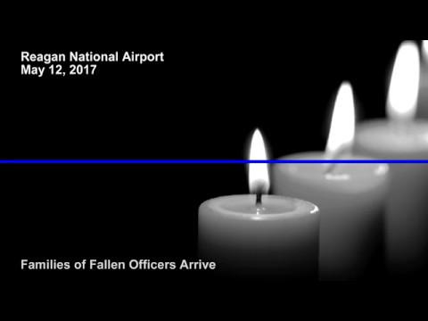 Fallen Law Enforcement Families Arrive at Reagan National Airport 2017