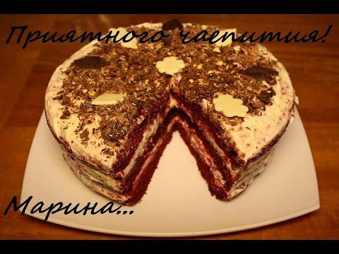 Торт красный бархат в мультиварке рецепт