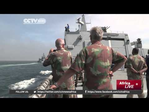 War Games: S. African & German Navy Engage On the High Seas