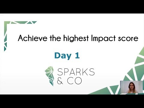 Impact for EU project: How to raise awareness on a issue? - Sparks & Co