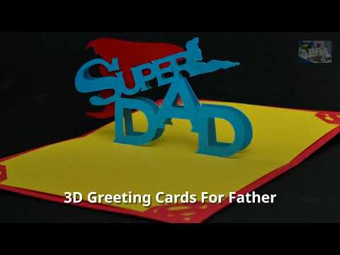 3D Pop Up Greeting Cards - Abra Cards