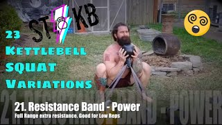 23 Kettlebell Squat Variations From Swing This KB Club
