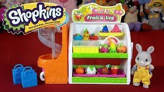 Овощная лавка Шопкинс / Shopkins Fruit and Veg Stand обзор на русском(Привет) Сегодня откроем игровой набор