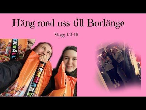 Följ med mig till Borlänge - Vlogg