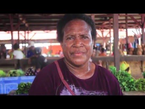 Papuan Women's markets