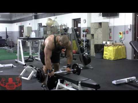 GASP Ambassador  / Team Hell / Power Nutrition Netherlands Hector Mendoza Shoulder