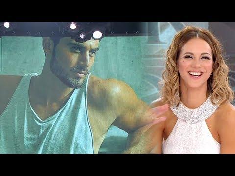 ¡Para Occhiato que lo mira por TV Flor Vigna está soltera y Marcelo le busca novio