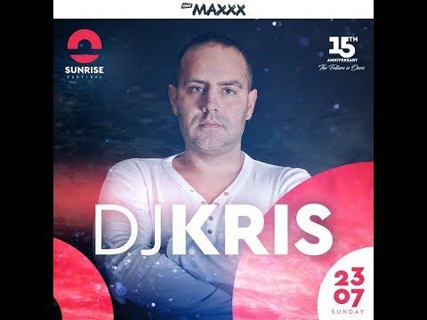 DJ KRIS @ Sunrise Festival 2017 - NIEDZIELA   23.07.2017   PARKING CAŁY SET 4K #15thanniversary