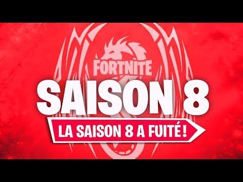 LA DESCRIPTION OFFICIELLE DE LA SAISON 8 DE FORTNITE A FUITÉ !!