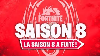 LA DESCRIPTION OFFICIELLE DE LA SAISON 8 DE FORTNITE A FUITÉ !!