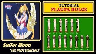 Sailor Moon en Flauta Dulce