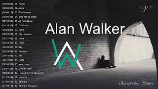 TOP 20 Bài Hát Hay Nhất của Alan Walker   Best of Alan Walker
