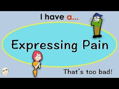 Expressing Pain | English Speaking Practice | ESL | EFL