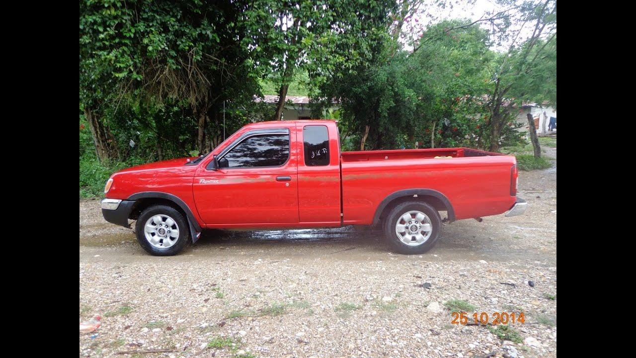 Nissan Frontier 1998 Cabina Y Media Rojo Youtube