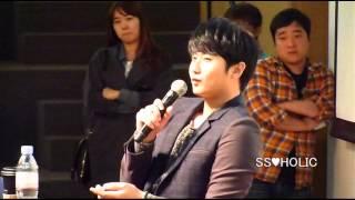 """13.10.20 허영생 Special album """"She"""" Fan sign ホヨンセン光化門サイン会。 SS♥HOLIC : http://ss501holic.blog.fc2.com/"""