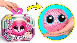 Wasche Und Enthülle Ein Entzückendes Plüschspielzeug Scruff-A-Luvs