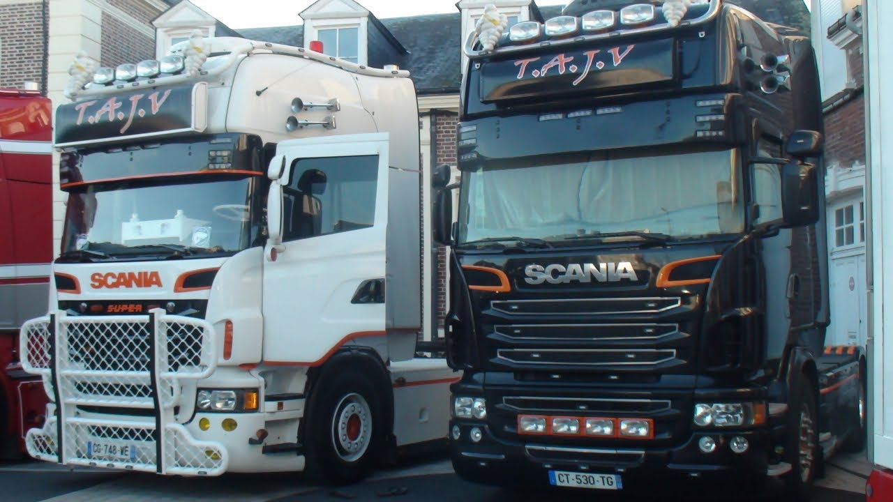 Fabuleux Expo/Rassemblement de camion -- SCANIA & STIHOLT -- Tuning and  RC82