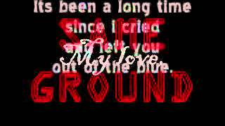 SAME GROUND with lyrics -Kitchie Nadal