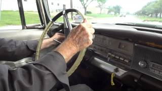 1964 Chrysler Imperial in street action