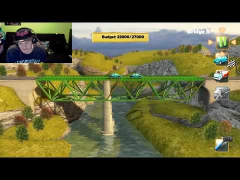 I hate this game | Bridge Constructor #2 |