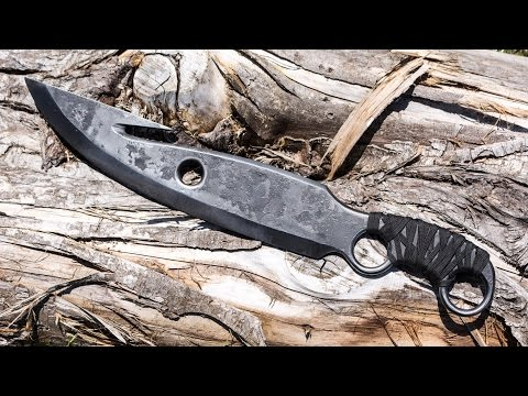 Destiny Inspired DIY Hunter Knife Made With a Van Leaf Spring - Fast Edit