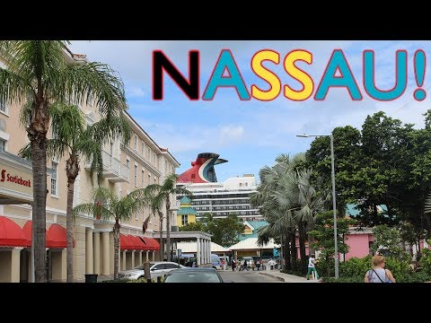 CARNIVAL PRIDE CRUISE VLOG 2017 Day 6 PART II   Downtown Nassau and Evening Fun!