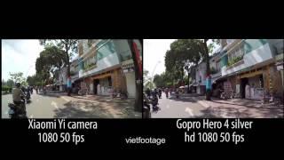Xiaomi Yi Camera vs. GoPro HERO4 Silver
