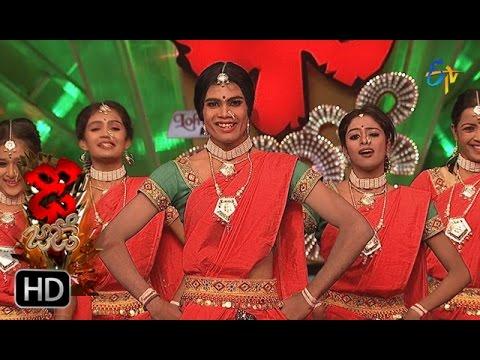 Rahul and Dharsini Performance | Dhee Jodi | 9th November 2016 | ETV Telugu